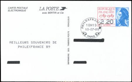 carte postale electronique
