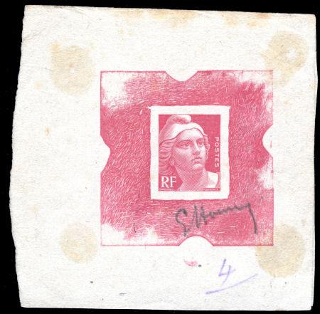 Galerie : Epreuve d\'une Marianne de Gandon non adoptée